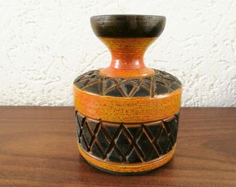 Italy Vase sgraffito