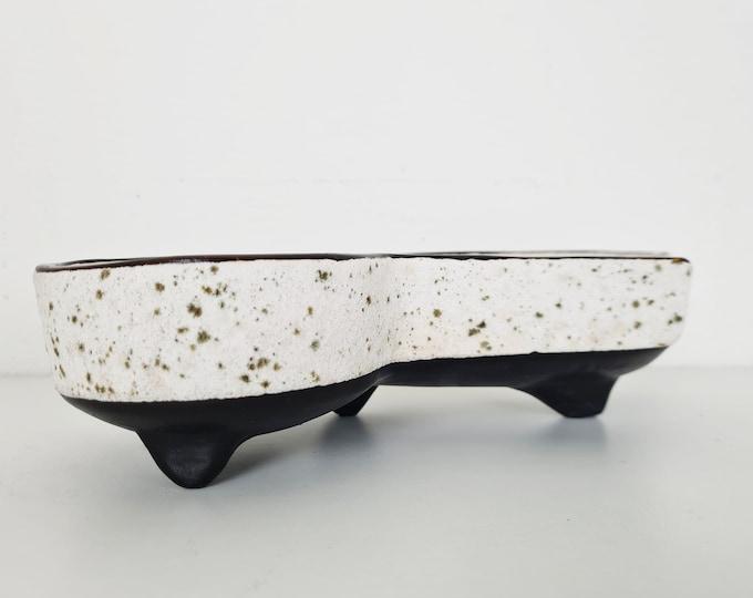 Featured listing image: Vintage Ceramic Planter (Black/White)