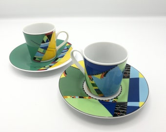 Vintage set of Espresso cups by Seltmann Weiden