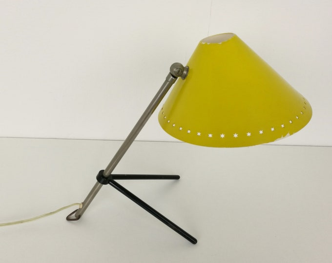Featured listing image: Yellow Pinocchio lamp by Hala Zeist