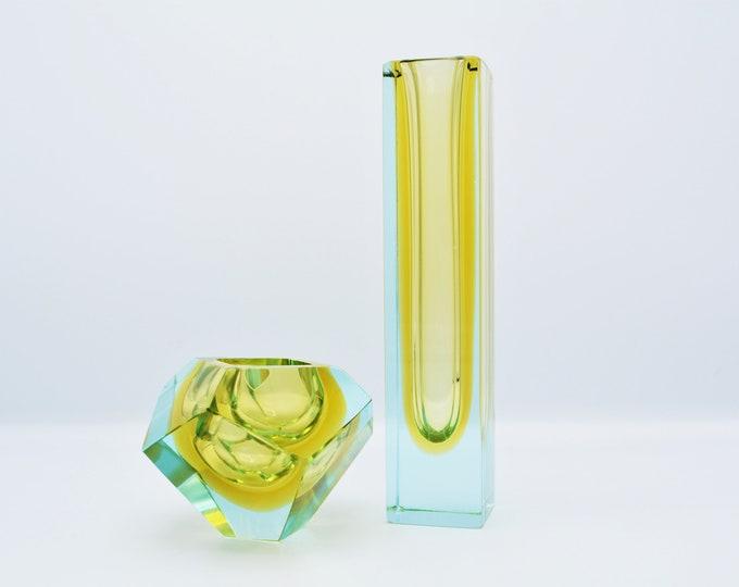 Murano Sommerso vases set