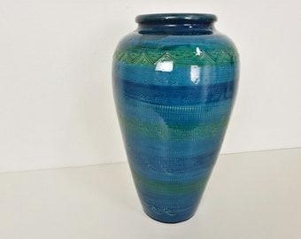 Italian vase Rimini Blue