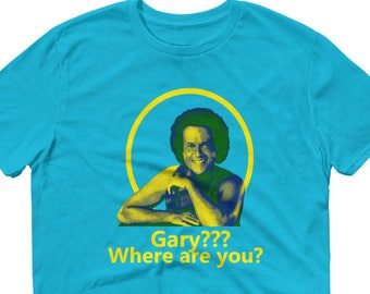 Gary? Where Are You? Howard Stern Show Richard Simmons T-shirt