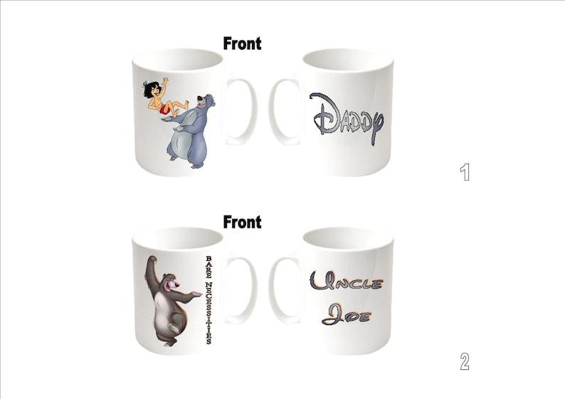 "Personalised  Printed /""BAMBI/"" Inspired  Boxed White Mug ~ Multiple Choices"