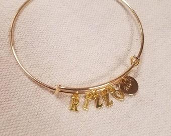 Anthony Rizzo Chicago Cubs Bangle Bracelet - #44- Cubs Charm Bracelet - Cubs Spirit Wear