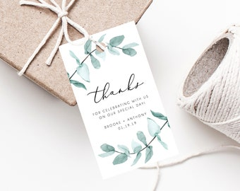 wedding gift tags etsy