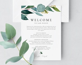 Welcome Letter Template Etsy