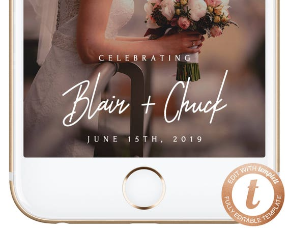 instant download snapchat filter wedding snapchat geofilter | etsy