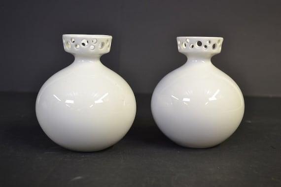 Set of 2 Porcelain vases by Wallendorf - Germany