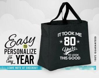 80th Birthday Gifts Bag Gift Tshirt 1938 Tote