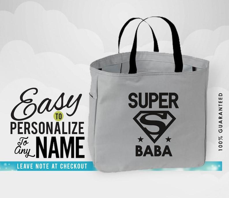 gift for birthday birthday birthday gift babalife custom bag christmas gift bags and purses bag baba baba gift Baba bag tote bag