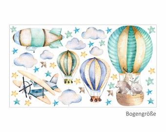 Ballon Wandtattoo Etsy