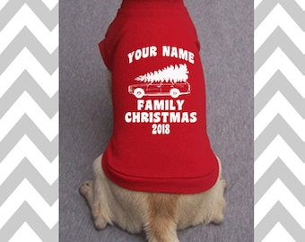 custom christmas dog shirt custom griswold family christmas dog t shirt funny christmas dog sweater holiday dog apparel