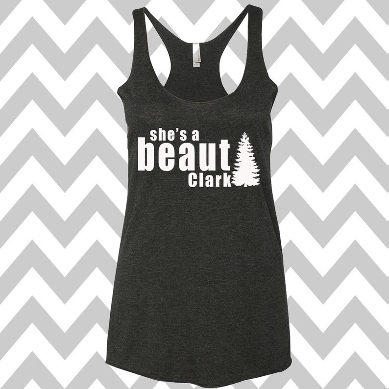 962b5c1b She's A Beaut Clark Griswold Family Christmas Tank Top | Etsy