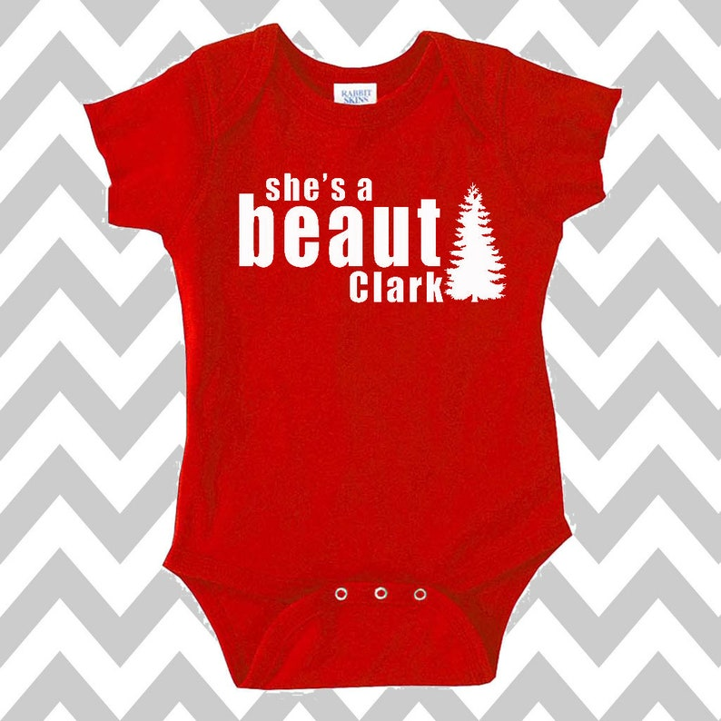 8932c11b She's A Beaut Clark Griswold Family Christmas Onesie | Etsy