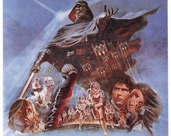 The Empire Strikes Back Movie Poster  A3/A2/A1 Print