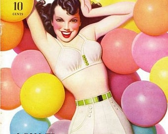 Vintage Pin Up Girl 165 Pinup Poster  A3 Print