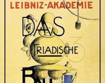 Kunstplakate VINTAGE 1930'S  BAUHAUS GERMAN ART SUPPLIES ADVERTISEMENT  A3 POSTER REPRINT