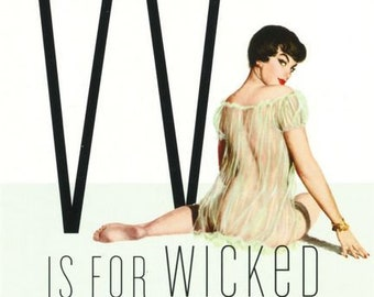 e3efd450dd0 W is for Wicked Pin-Up Girl Poster
