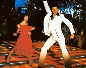 Saturday Night Fever Movie Poster  A3/A2/A1 Print