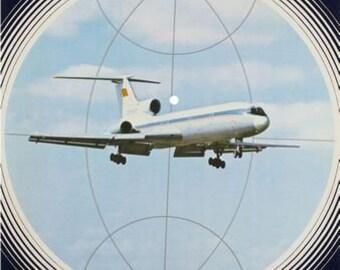 Vintage Aeroflot Lenin Poster  A3 Print