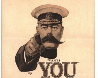 New A2//A3 YOUR COUNTRY NEEDS YOU Wrapping Paper,WW2 war poster UK America poster