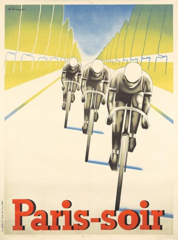 Antiquitäten & Kunst Kunst Vintage 1980 Roland Garros French Open Tennis Poster  A3 Print
