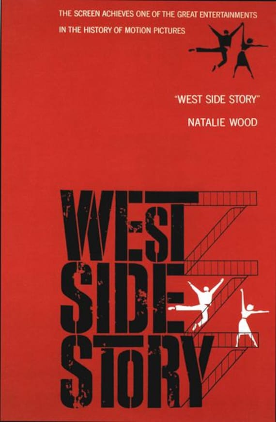 WESTSIDE STORY MOVIE WALL ART POSTER A1 - A5 SIZES AVAILABLE