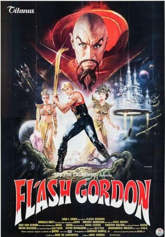24x36 Flash Gordon Vintage Movie Poster