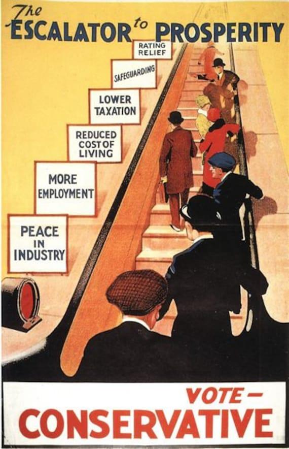 1929 Labour Party Election Poster A3//A2 Print