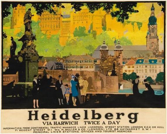 Vintage LNER Felixstowe Railway Poster A3//A2//A1 Print