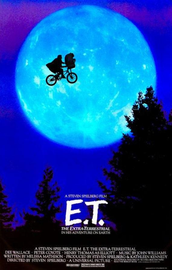 ET Movie Poster A3/A2/A1 Print | Etsy