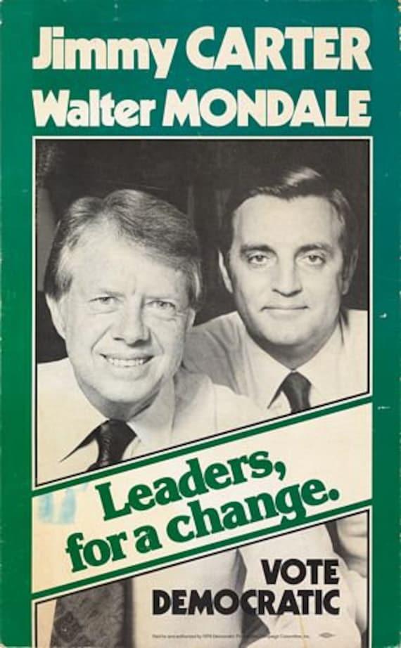 Vintage Ronald Reagan Presidential Election Poster Print A3//A4