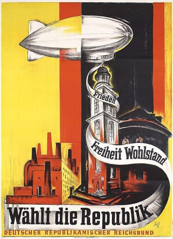 A2 Print Vintage 1920/'s German Mens Fashion Advertising Poster A3