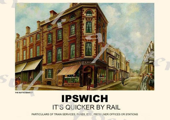 Vintage Style Railway Poster Wells Somerset A4//A3//A2 Print