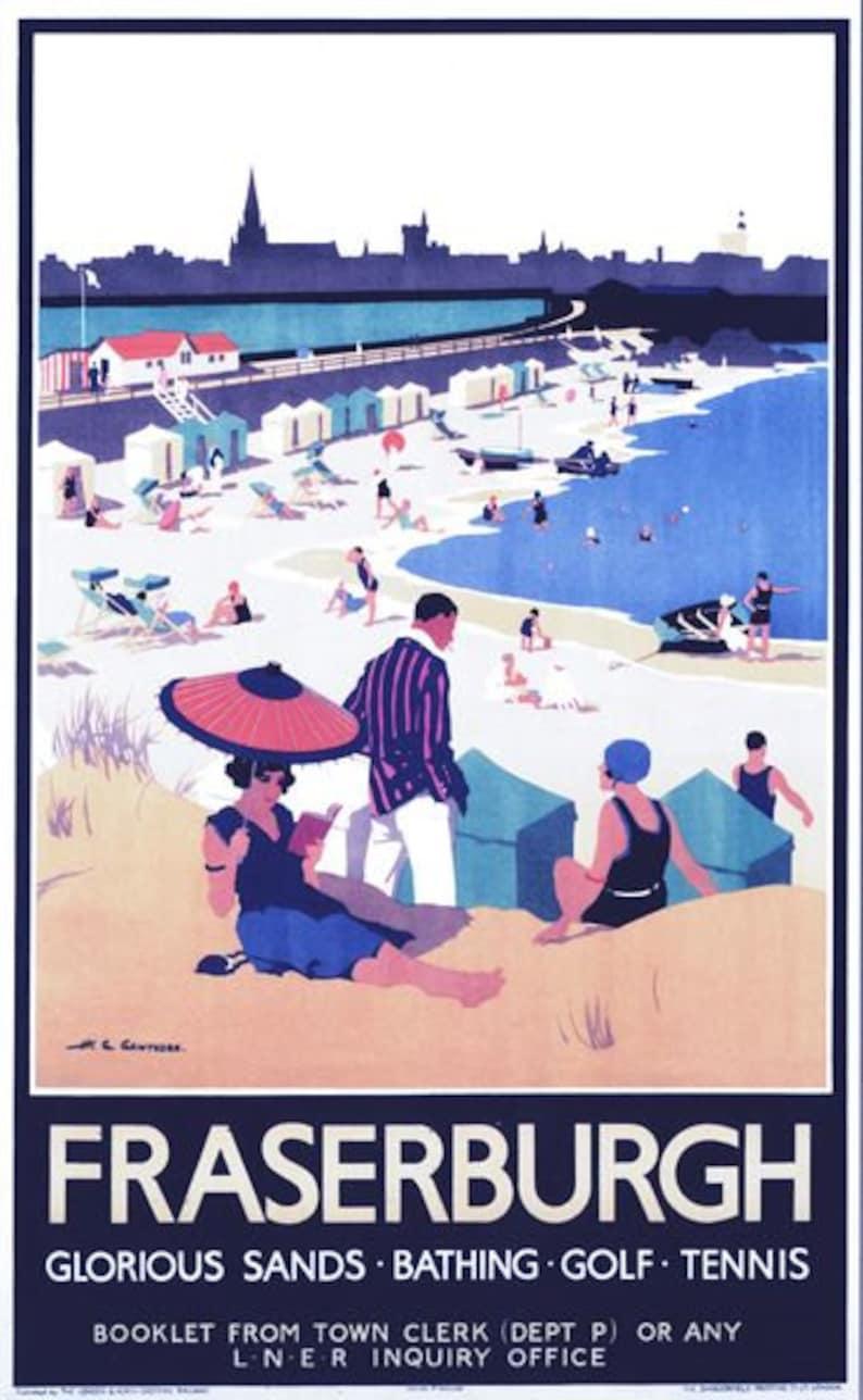 Vintage LNER Isle of Skye via Mallaig Railway Poster A3//A2//A1 Print