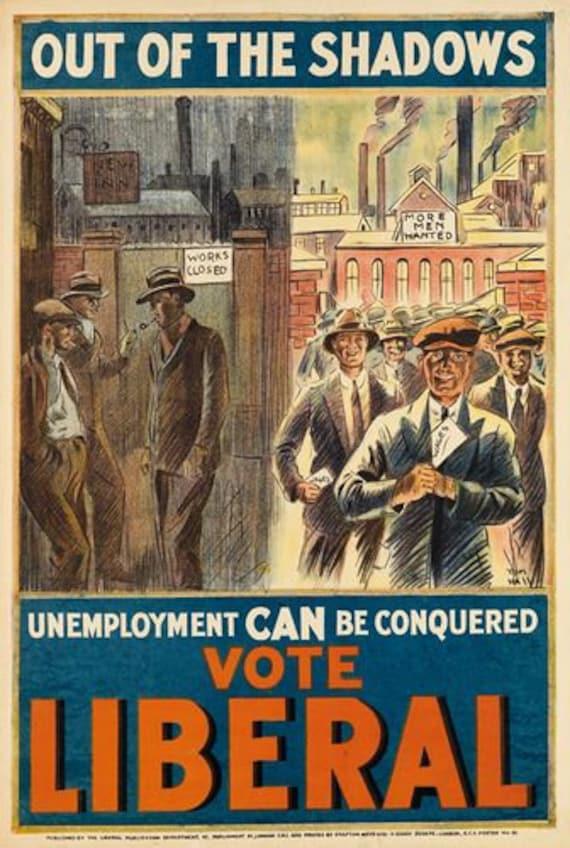 Vintage 1940/'s US Roosevelt Presidential Election Poster  A3 Print