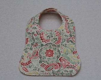 Floral Baby Bib - Custom & Reversible
