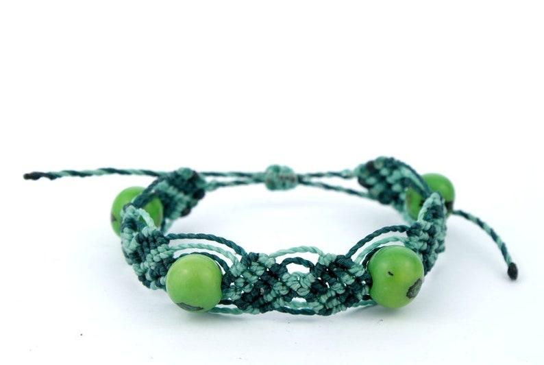Macrame Bracelet Green