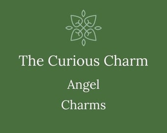 Angel Charm, add on for charm bracelets, gems, add on for necklace, lockets, angel callers, keychains
