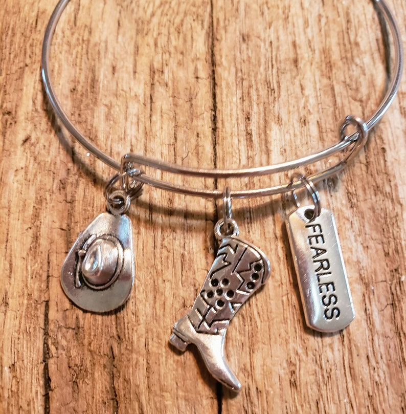 Country Girl Charm Bracelet image 0