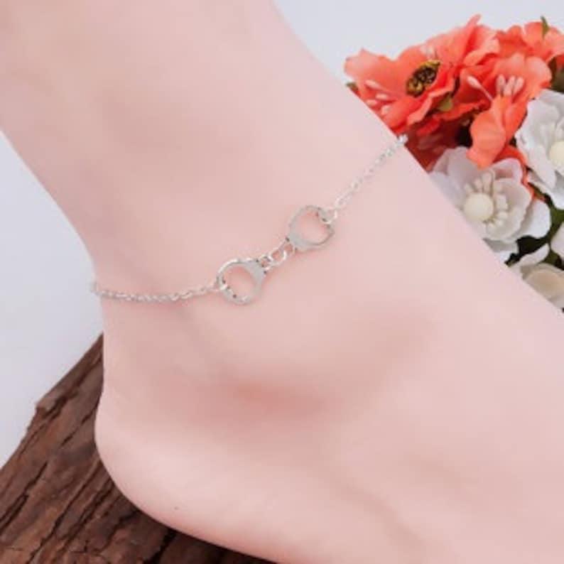 Handcuff Ankle Bracelet image 0