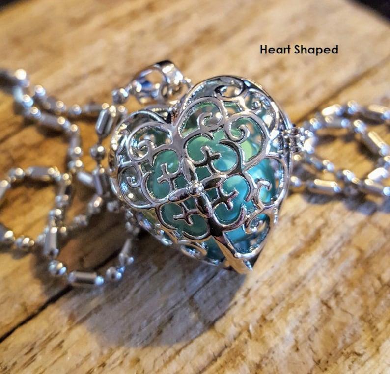 Angel Caller Pendant Heart shaped Locket image 0