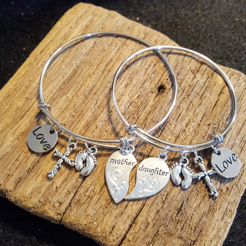 Mother/Daughter Matching Charm Bracelets mother daughter image 0