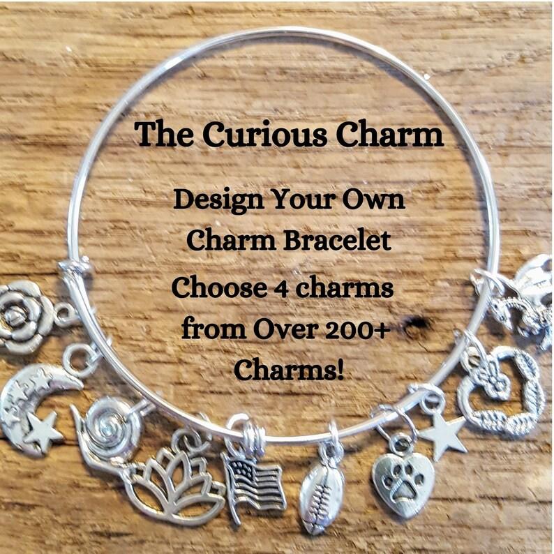 Design Your Own Custom Charm Bracelet Build Your Own Bangle image 0