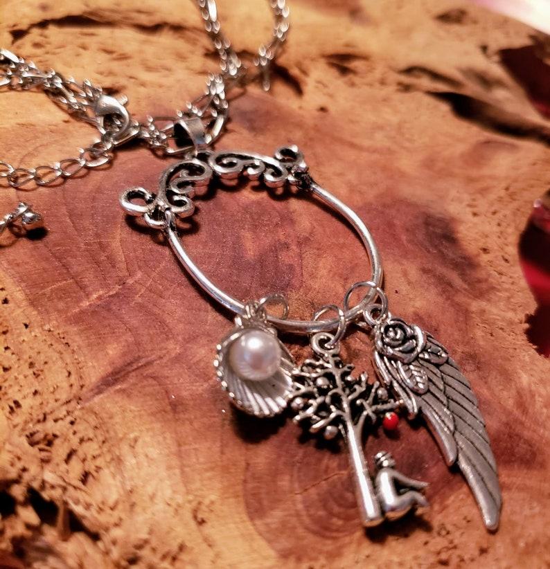 Decorative charm holder necklace image 0