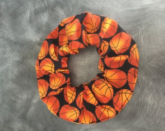 Basketball sport hair scrunchie