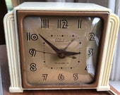 Super Cute Telechron Alarm Clock - Restored - Model 7H135-S