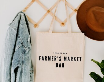 Northerly Goods Farmers Market Tote