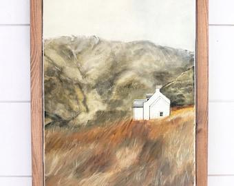 Isle of Skye * Watercolor Print* Hygge
